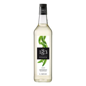 1883 Maison Routin Peppermint Syrup (1L)