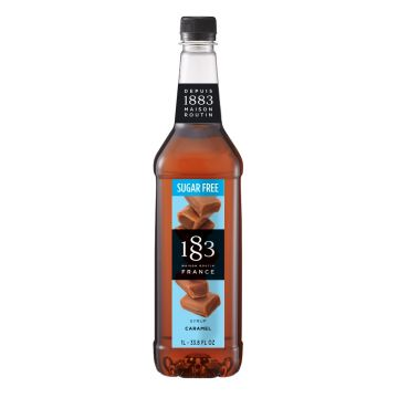 1883 Maison Routin Sugar Free Caramel Syrup (1L)