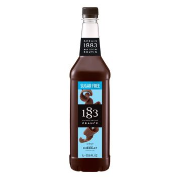 1883 Maison Routin Sugar Free Chocolate Syrup (1L)