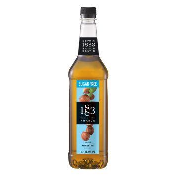 1883 Maison Routin Sugar Free Hazelnut Syrup (1L)