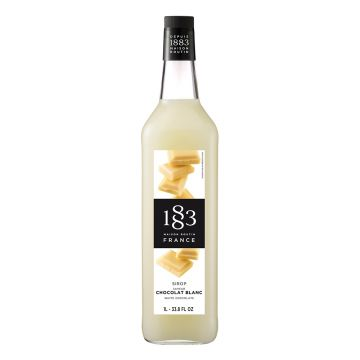 1883 Maison Routin White Chocolate Syrup (1L)