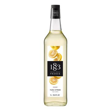 1883 Maison Routin Yuzu Lemon Syrup (1L)
