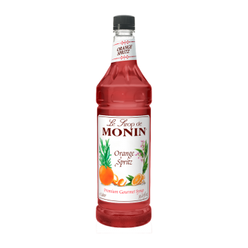 Monin Orange Spritz Syrup - 1.0 Liter