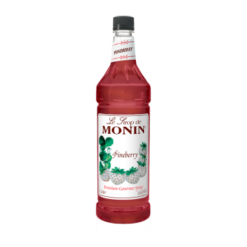 Monin Pineberry Syrup - 1.0 Liter