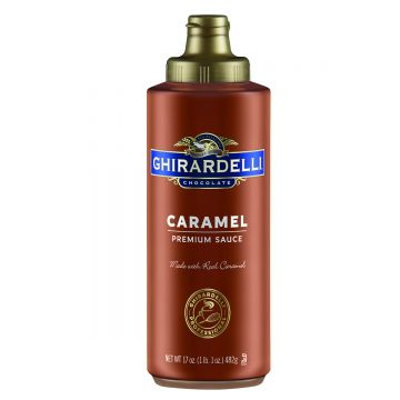 Ghirardelli Caramel Flavored Sauce Squeeze Bottle (16oz)