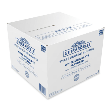 Ghirardelli Sweet Ground White Chocolate Flavored Powder (25 lbs)