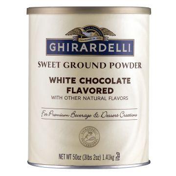 Ghirardelli Sweet Ground White Chocolate Flavored Powder (3.12 lbs)