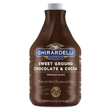Ghirardelli Sweet Ground Chocolate  Cocoa Sauce (64 fl oz)