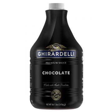 Ghirardelli Black Label Chocolate Sauce (64 fl oz)