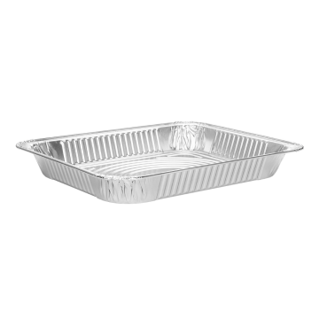 Karat Half Size Aluminum Foil Steam Table Pan, Shallow Depth - 100 pc