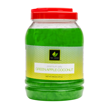 Tea Zone Green Apple Coconut Jelly (8.5 lbs)