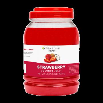 Tea Zone Strawberry Coconut Jelly (8.5 lbs)