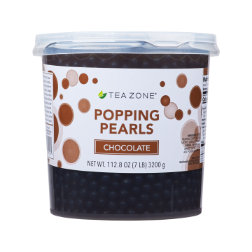 Tea Zone Chocolate Popping Pearls (7 lbs)