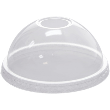 Karat 92mm PET Plastic Dome Lids - 1,000 ct