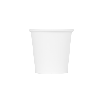 Karat 4oz Paper Hot Cups - White (62mm) - 1,000 ct
