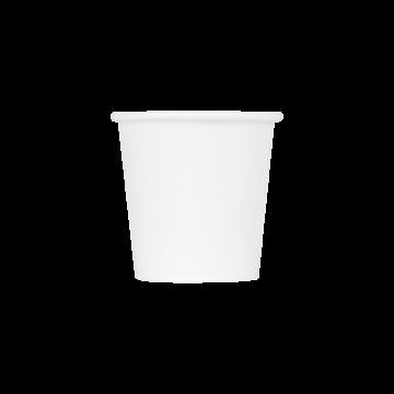 Karat 4oz Paper Hot Cups - White (62mm) - 1,000 ct