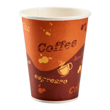 Karat 8oz Paper Hot Cups - Coffee (80mm) - 1,000 ct