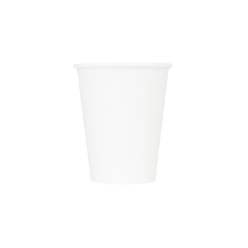 Karat 8oz Paper Hot Cups - White (80mm) - 1,000 ct