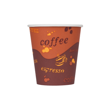 Karat 10oz Paper Hot Cups - Coffee (90mm) - 1,000 ct