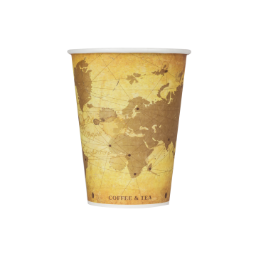 Karat 12oz Paper Hot Cups - Atlas (90mm) - 1,000 ct
