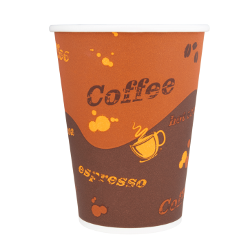 Karat 12oz Paper Hot Cups - Coffee (90mm) - 1,000 ct