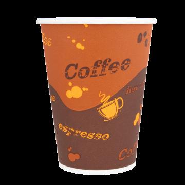 Karat 12oz Paper Hot Cups - Coffee (90mm) - 1,000 ct