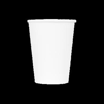 Karat 12oz Paper Hot Cups - White (90mm) - 1,000 ct
