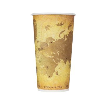 Karat 20oz Paper Hot Cups - Atlas (90mm) - 600 ct