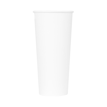 Karat 24oz Paper Hot Cups - White (90mm) - 500 ct