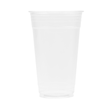 Karat 24oz PET Plastic Cold Cups (98mm) - 600 ct