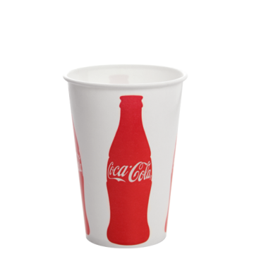 Karat 16oz Paper Cold Cups - Coca Cola (90mm) - 1,000 ct