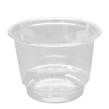 Karat 8oz PET Plastic Dessert Cups (92mm) - 1,000 ct