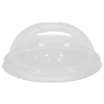 Karat 104.5mm PET Plastic Dome Lids - 600 ct