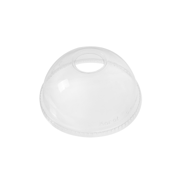 Karat 98mm PET Plastic Dome Lids - 1,000 ct