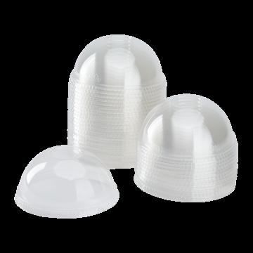 Karat 98mm PET Plastic Dome Lids - 1,000 ct