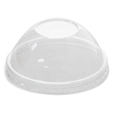 Karat 4oz PET Plastic Food Container Dome Lids (76mm) - 1,000 ct