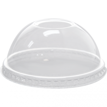 Karat 78mm PET Plastic Dome Lids - 1,000 ct