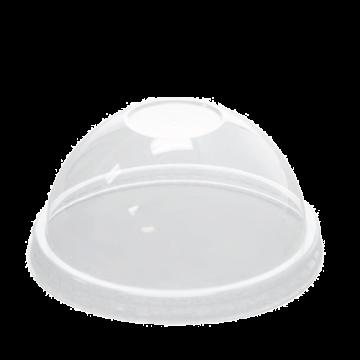 Karat 8oz PET Plastic Food Container Dome Lids (95mm) - 1,000 ct