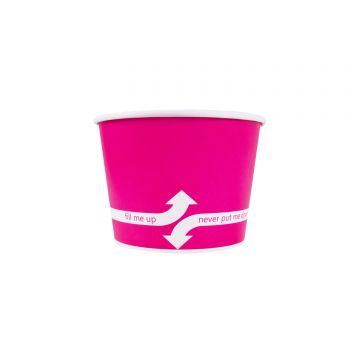 Karat 12oz Food Containers - Pink (100mm) - 1,000 ct, C-KDP12 (PINK)