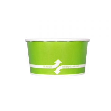Karat 6oz Food Containers - Green (96mm) - 1,000 ct