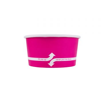 Karat 6oz Food Containers - Pink (96mm) - 1,000 ct