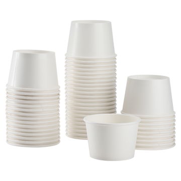Karat 8oz Food Containers - White (95mm) - 1,000 ct