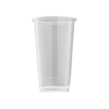 Karat 24oz PP Plastic U-Rim Cold Cups (95mm) - 1,000 ct