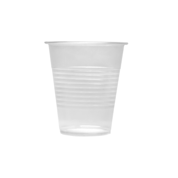 Karat 12oz PP Plastic Ribbed Cold Cups (90mm) - 1,000 ct