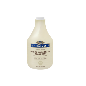 Ghirardelli White Chocolate Flavored Sauce (64 fl oz)