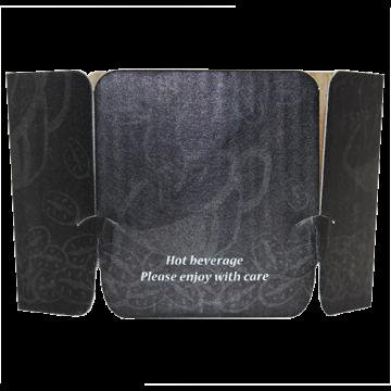 Karat Tulip Cup Jackets - Ebony - 1,000 ct