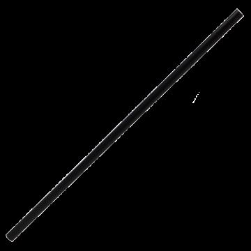 Karat 7.75'' Jumbo Straws (5mm) - Black - 12,000 ct, C9550 (Black)