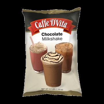 Caffe D'Vita Chocolate Milkshake (3 lbs)