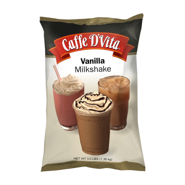 Caffe D'Vita Vanilla Milkshake (3 lbs)