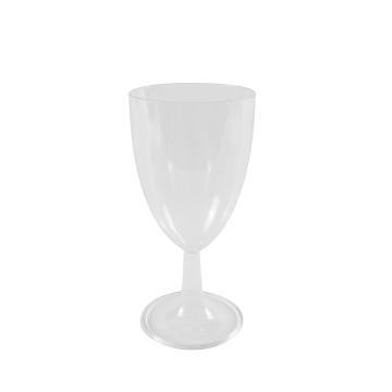 Karat 8oz PS Plastic Wine Cup - 100 ct, CS-WS08